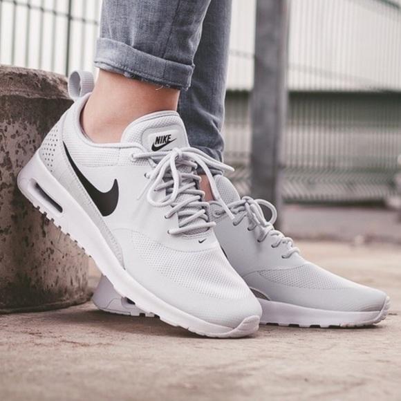 sale retailer 3e423 bc00b NWT Nike Air Max Thea pure platinum